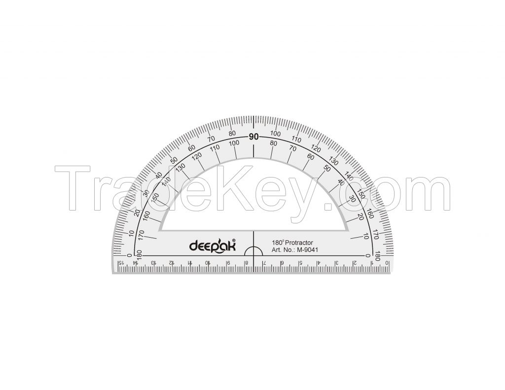 180 Degree Half Circle Protractor