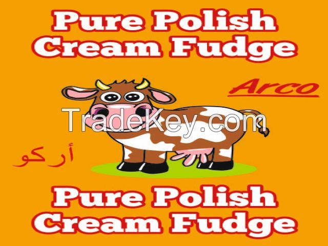 PURE POLISH CREAM FUDGE