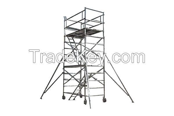 aluminum scaffolding tower