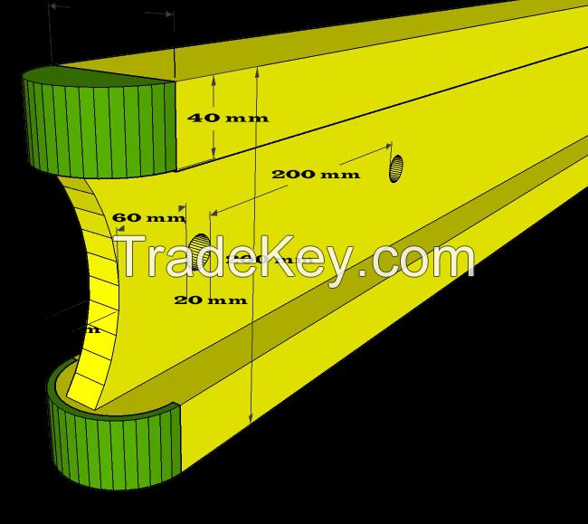 Herculforce H20 Wooden beams