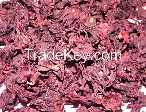 DRIED HIBISCUS FLOWERS 100% ORGANIC