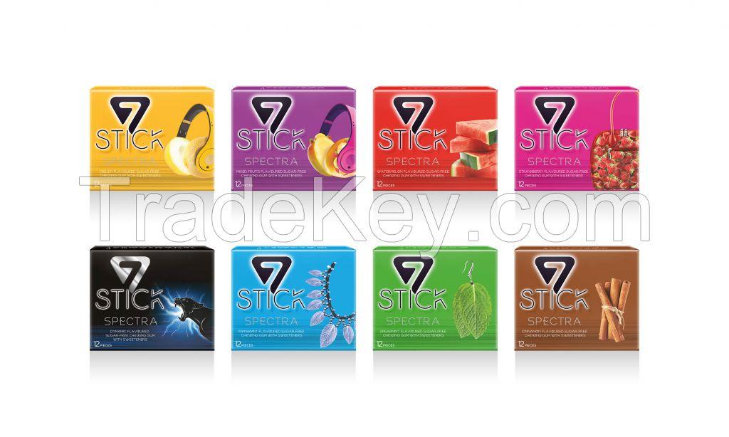 7 Stick Chewing Gum Sugar Free - Goma De Mascar Sem Acucar