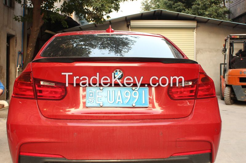 M-performance style carbon fiber rear trunk spoiler for BMW 3 series f30 2012+ 316i 318i 320i