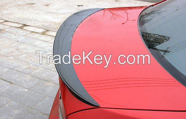 BMW 3 series E90 2005-2011 M-performance carbon fiber rear trunk spoiler wings