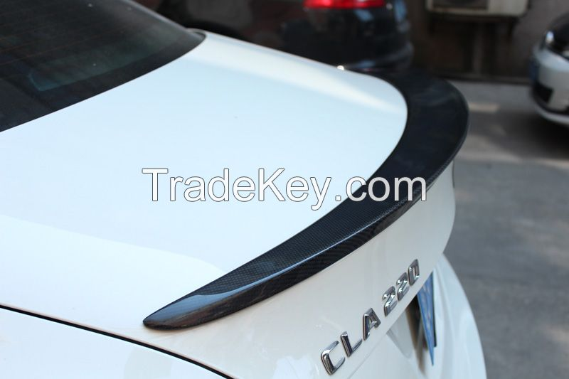 Mercedes W117 AMG Style Spoiler Rear Back Trunk Carbon Fiber Wing For Benz CLA Class W117 CLA45 AMG 2013 - IN CLA200 CLA180