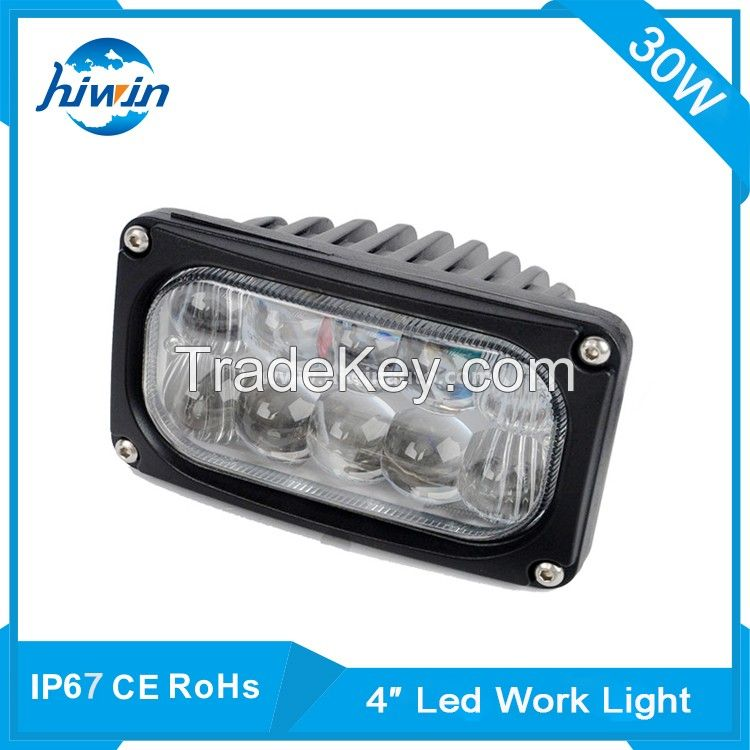 hiwin ip68 30w led rechargeable work light YP-4030