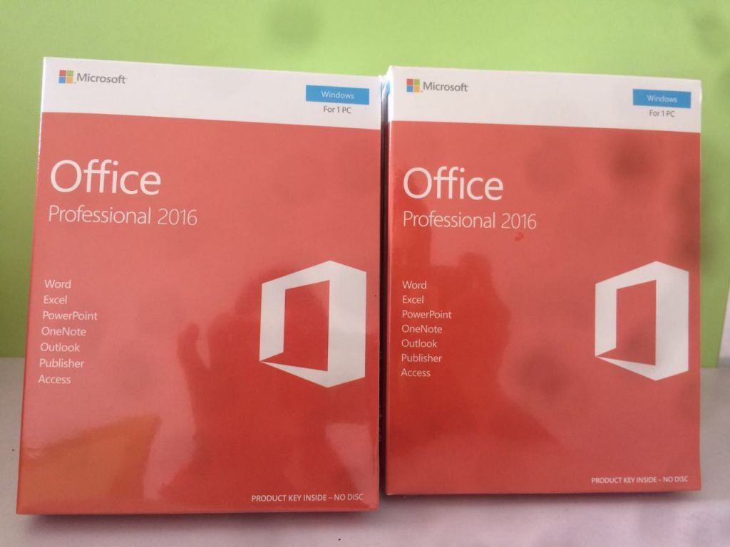 Office 2016 Professional PRO PLUS All Language Retail Version FPP Online Activation Key
