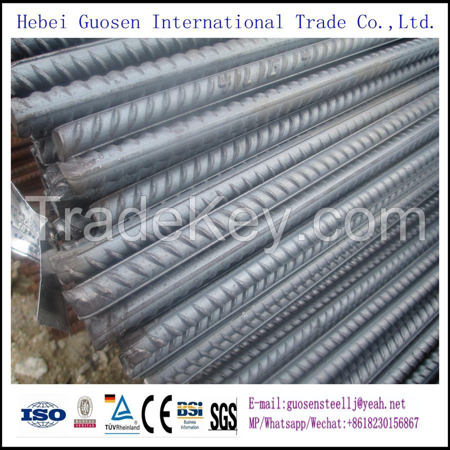 High quality HRB400 HRB500 Concrete Reinforced steel bars, Steel rebar