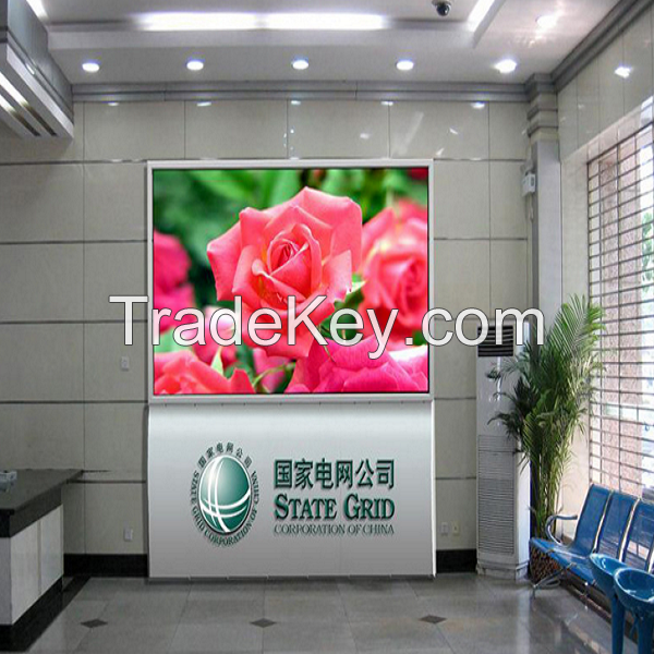 Full Color Indoor led display P6 electronic led screen advertising