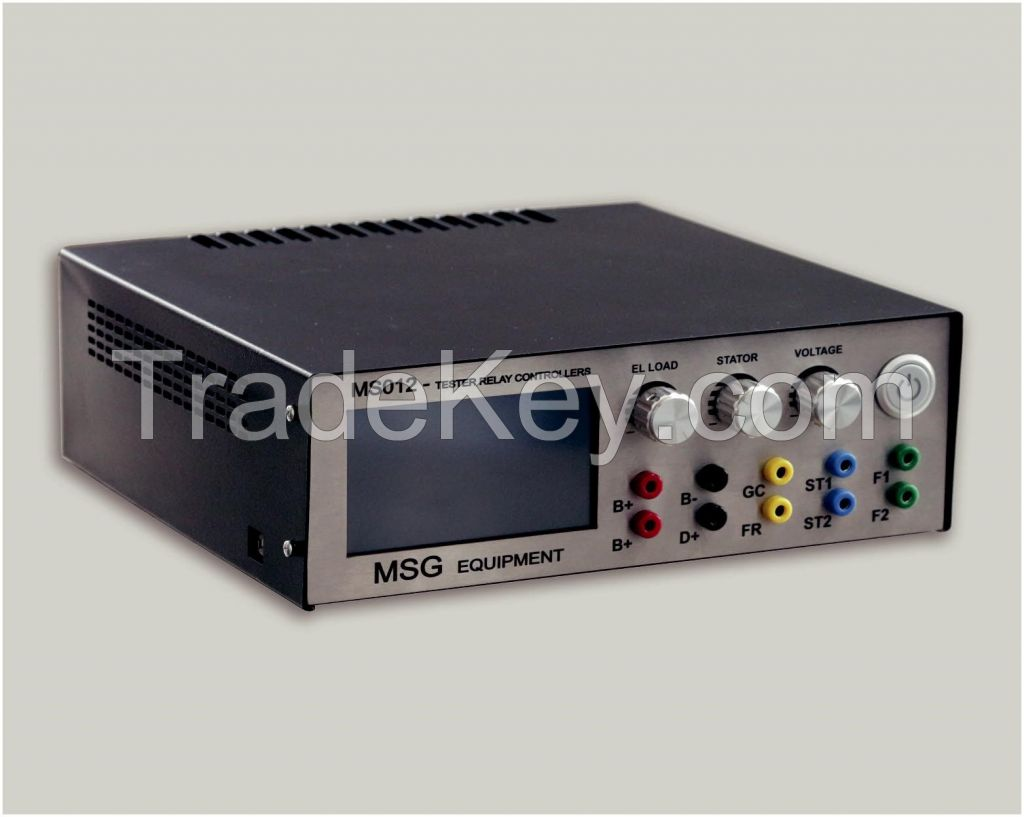 Tester MSG MS012 COM  diagnostics of voltage regulators
