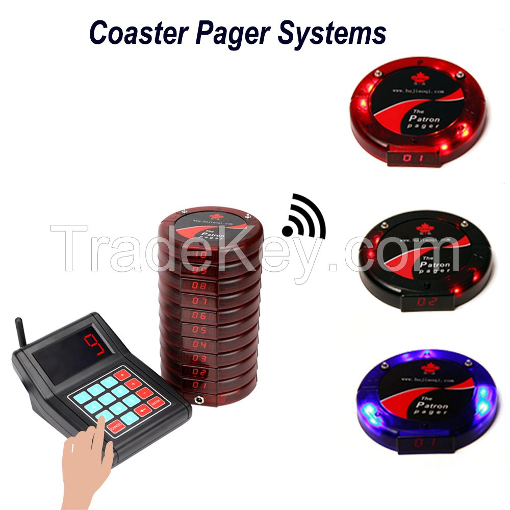 calling system for restaurant or cafe / wireless pagers