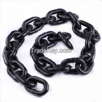 EN818-2 Standard G80 Welded Black Oxide Short Link Lifting Chain