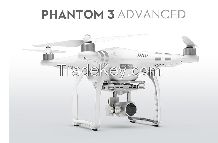 DJI Phantom 3 advanced video drone with camera quadcopter fpv remote control aerial rc hobby toy flight flying uav