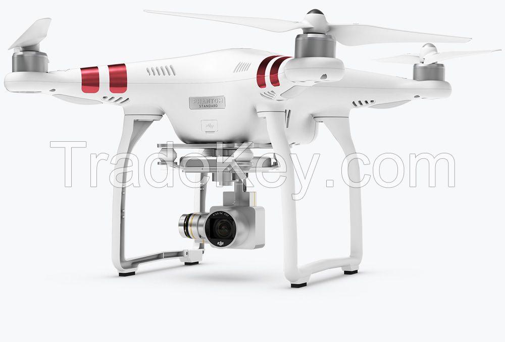 DJI Phantom 3 standard video drone with camera quadcopter fpv remote control aerial rc hobby toy flight flying uav