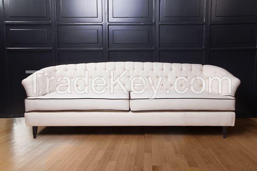 Bail Modern Living Room Fabric Sofa