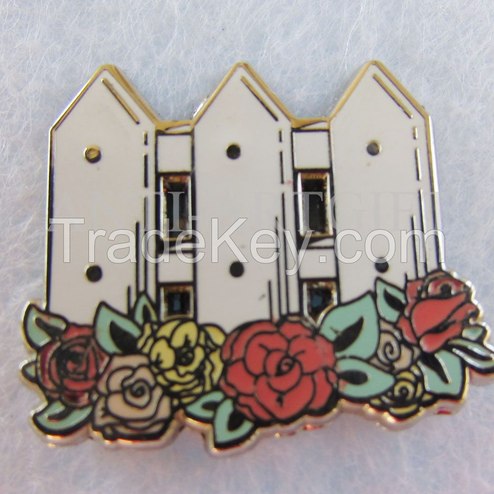 Custom Brooches pins Women bag multiple design party of Hijab Scarf CC Brooch Broche Collar Tips