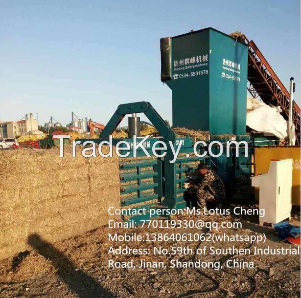 Hydraulic Horizontal Baler, Baling machine, Packing machine, Wrapping machine