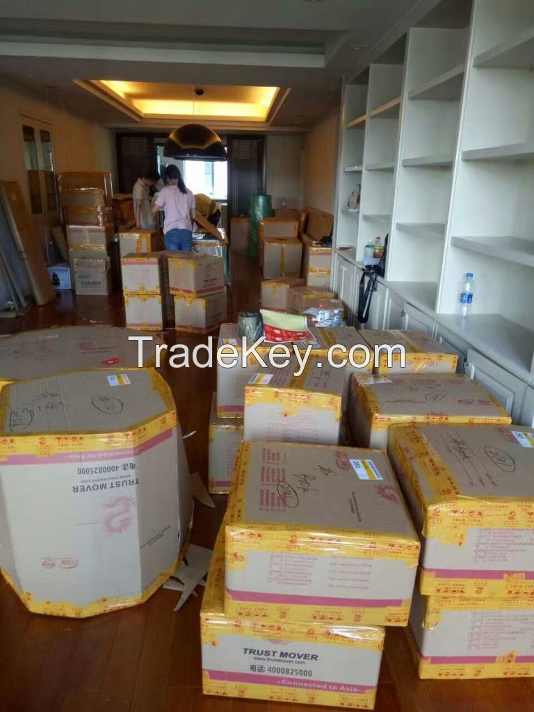 Professional import and export moving service in China