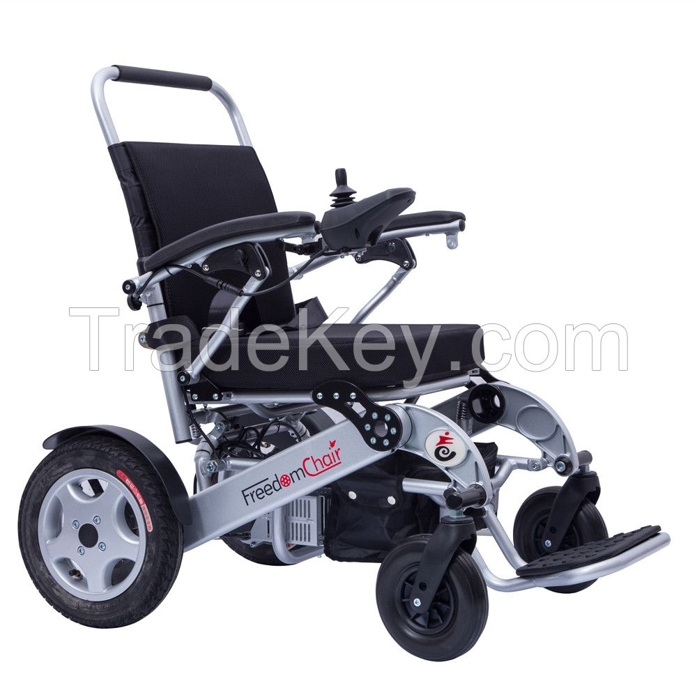 Freedom chair lightweight portable foldable electric power ...