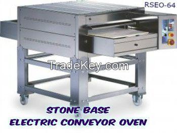STONE BASE ELECTRIC CONVEYOR OVEN