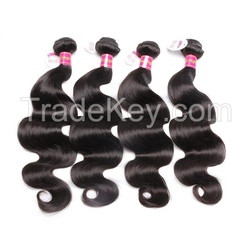 6A Bundles Human Hair (Brazilian,Peruvian,Malysian) Weaves 100g/pc 100% Unprocessed Virgin Hair Free Shipping Worldwide