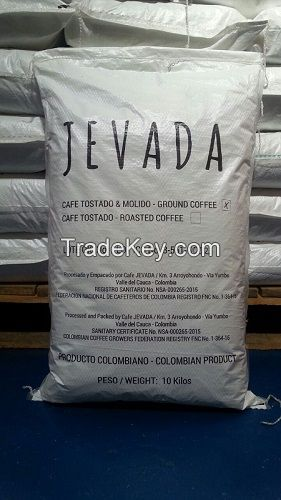 100% COLOMBIAN ROASTED GROUND COFFEE