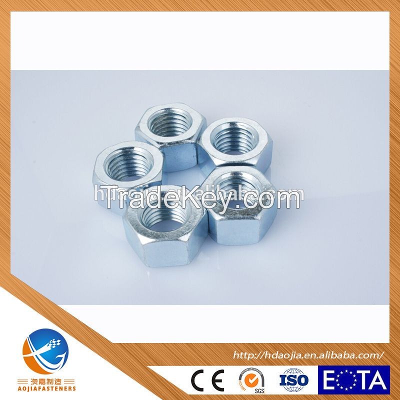Dependable Performance Hex Nuts, HIGH STRENGHT NUTS