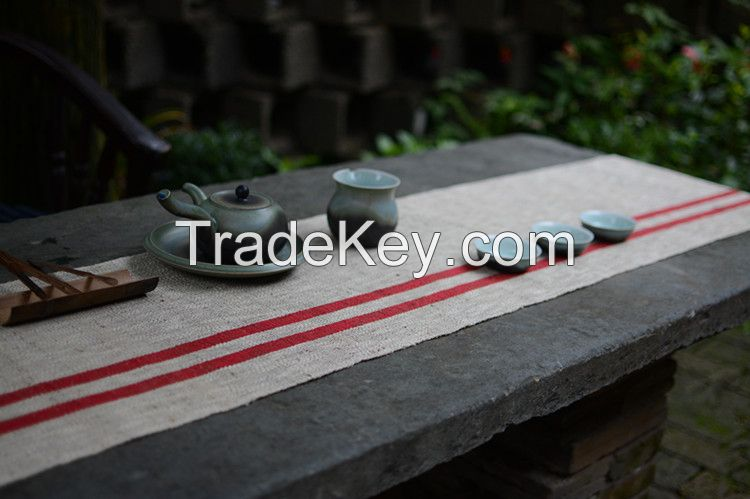Grass Cloth Table Runner