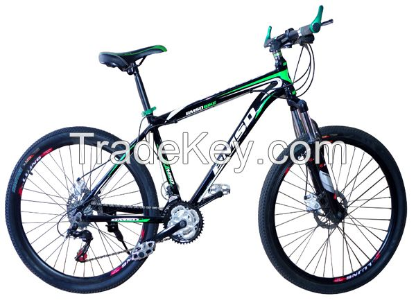 Mountain bike, 20'', 24'', integrated wheel, aluminium alloy frame