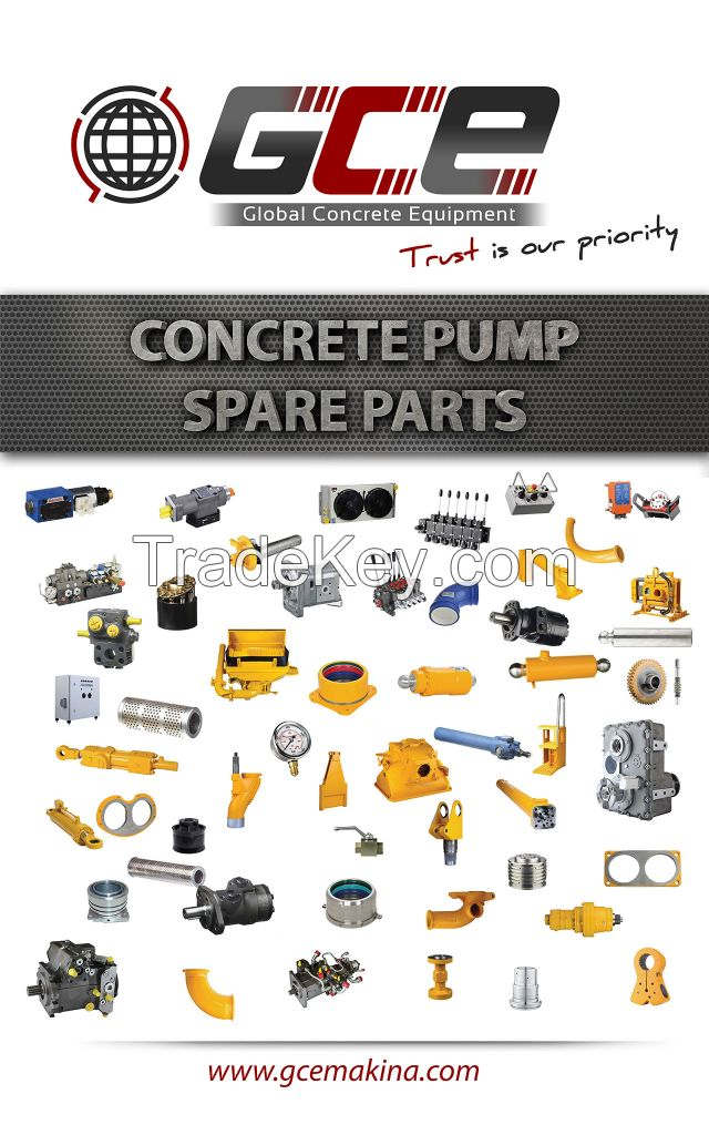 Concrete Pump Spare Parts