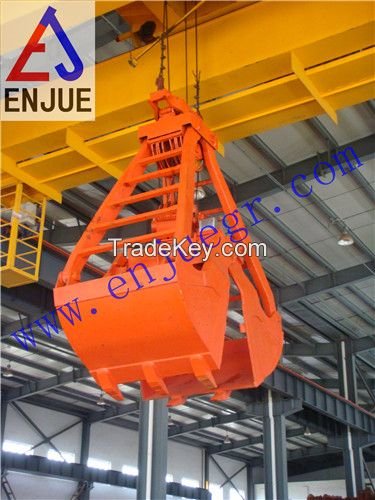 The Single Rope Dredging Clamshell GRABS