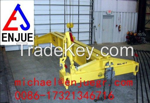 Manual Operation Container Spreader Semi Automatic Spreader Lifting Container for 20FT 40FT