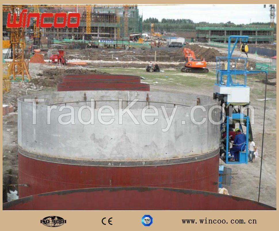 tank welding machine/ horizontal seam welding machine
