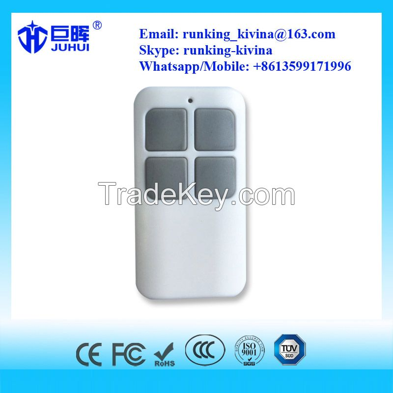 Multi-Frequency copy face to face remote control duplicator for gate and garage doors