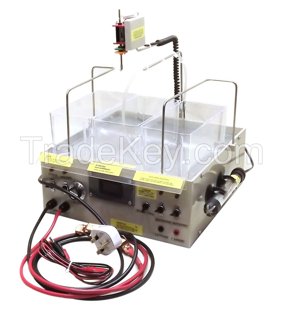Continuously Electroplating Station With Four Options