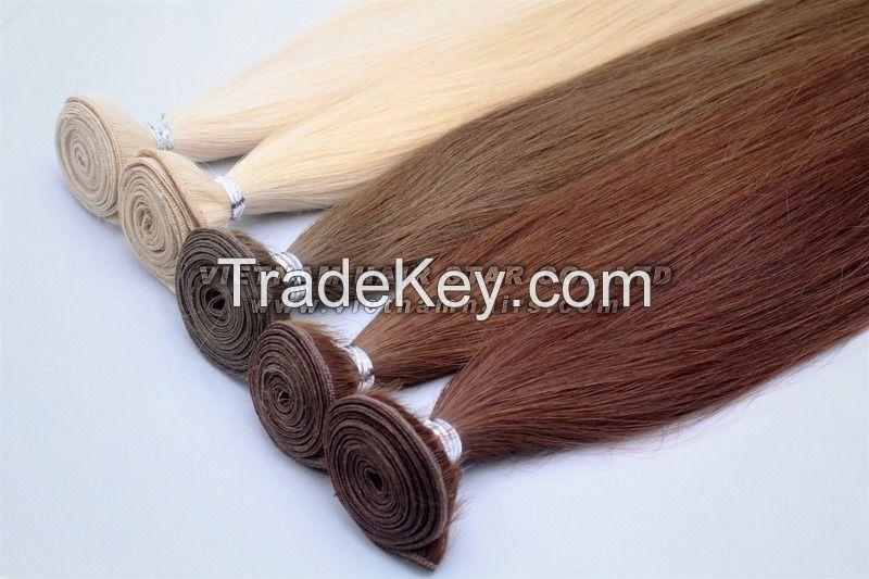 100% Unprocess Natural Human Weft Hair Wholesale