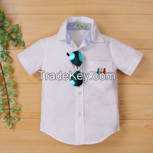 Extreme quality white shirt for boys in school