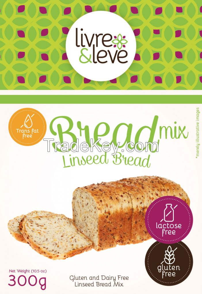 Gluten and Dairy Free Linseed Bread Mix