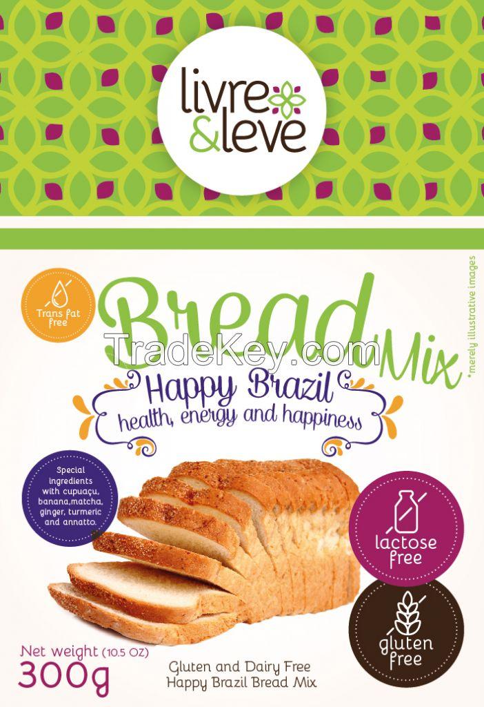 Gluten and Dairy Free Happy Brazil Bread Mix