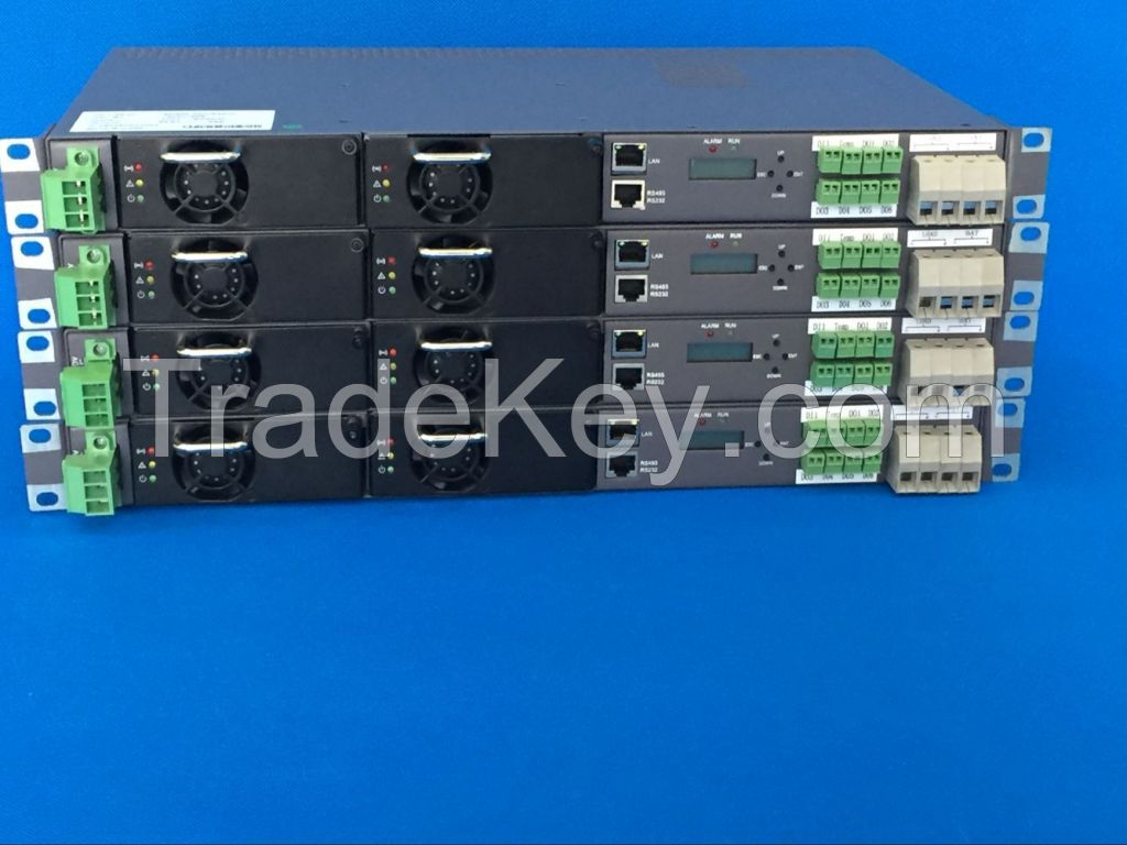 Rectifier System 220VAC/48VDC 60A Switching Power Supply  Subrack 1U