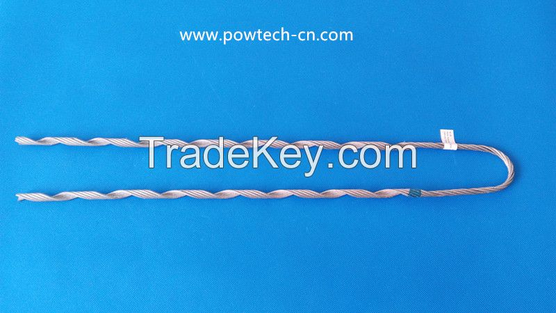 ADSS cable preformed tension clamp
