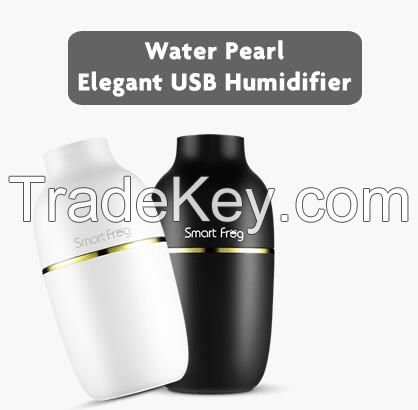 2016 winter hot sale beauty shape water pearl humidifier for vehicle