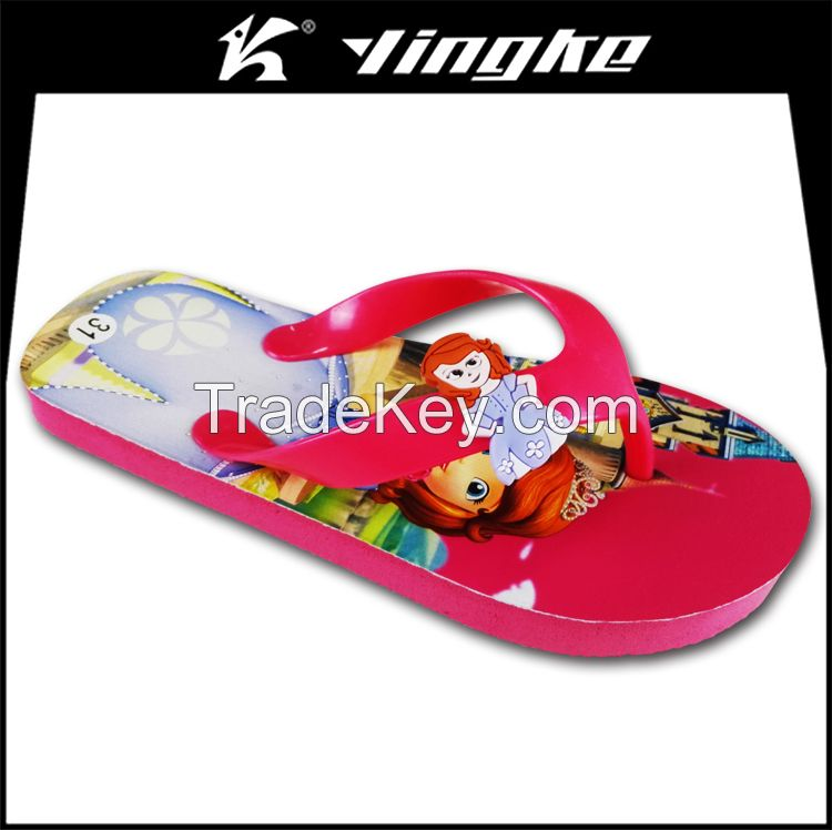 Factory custom printed all kinds of slippers flip flops cheap wholesale