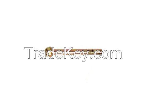 Flange nut sleeve anchor