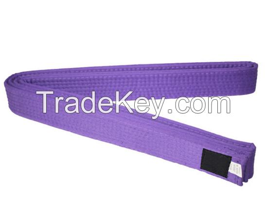 Colourful martial arts belts/taekwondo belts/custom karate belts for children