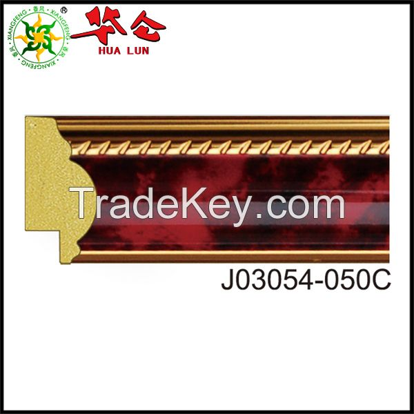Hualun Guanse PS polystyrene frame moulding for painting frames