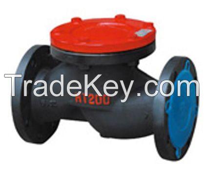 Iron steel Stainless Steel PN16 DN200 lift type check valve