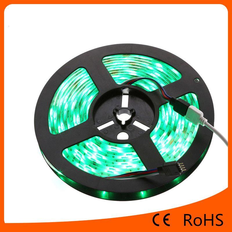 5050 RGBled flexible strip light 30led/m waterproof led light strip for Chrismas lighting