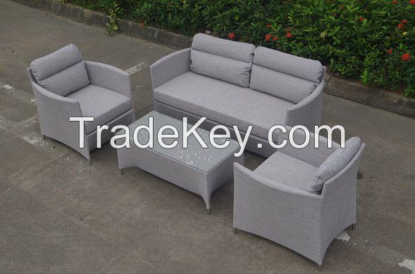 Outdoor Furniture Aluminium Sling Furniture Sling Sofa  Set