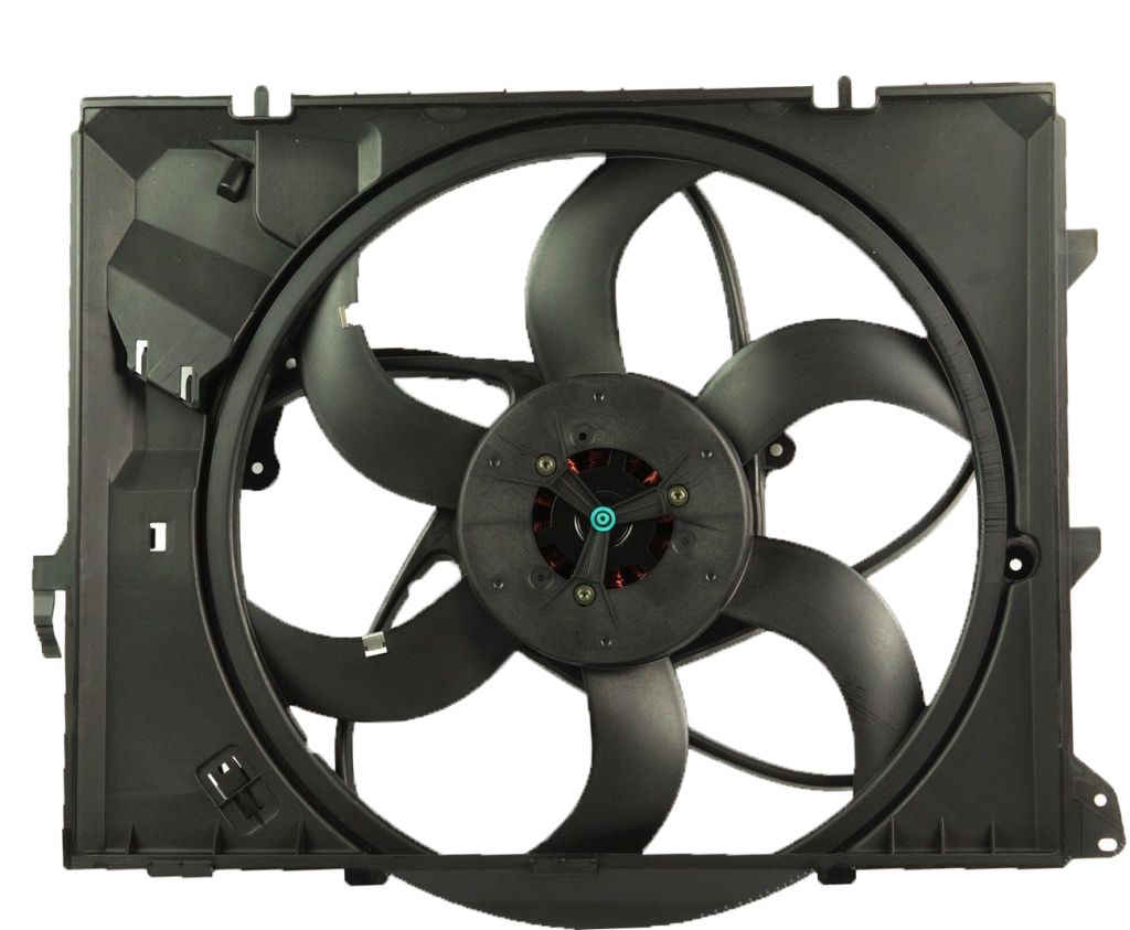 radiator fan assembly for BMW 3 series E90 17117590699, 17427523259